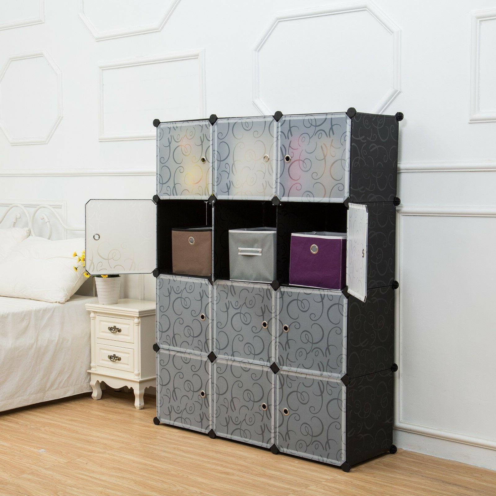 Unicoo-12 Bookcase, Cabinet, Wardrobe