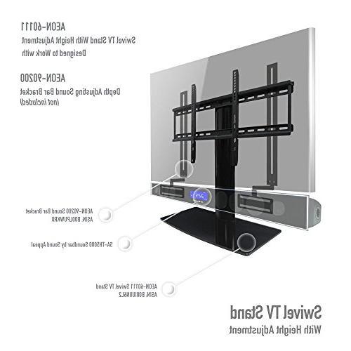 Universal TV height adjustment