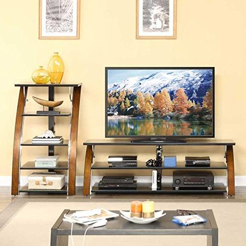 Whalen Furniture Top TV Stand Entertainment