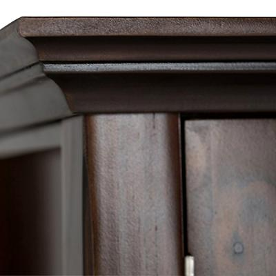 Simpli Solid Wood Medium Storage Rich