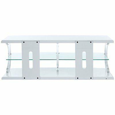ACME Aileen LED Stand in Clear