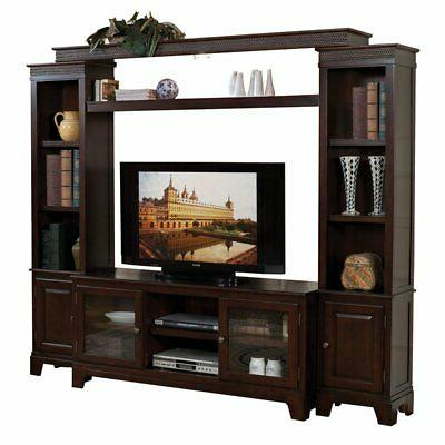 acme halden tv stand in merlot