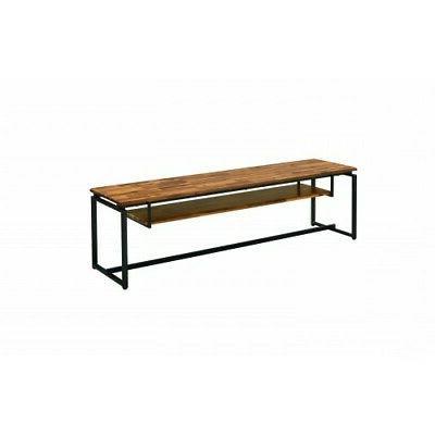 ACME Jurgen TV Stand Cabinet Console Furniture Table Shelve Black BT