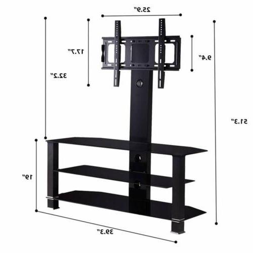 """32""""-70"""" Adjustable Tempered Entertainment"""