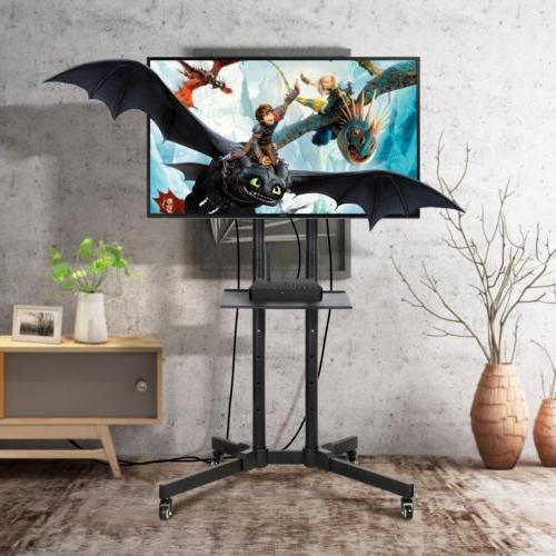 TV Cart LCD Flat Screen Panel w/ Fits