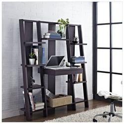 Altra Furniture Ladder Bookcase with Desk