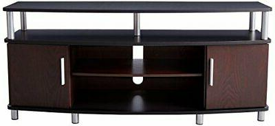 """50"""" TV STAND Storage Cabinet Entertainment Home Center Table"""
