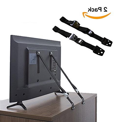 anti tip furniture safety straps earthquake proof heavy duty