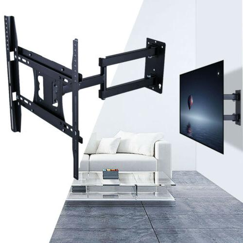 Articulating Arm TV Wall Mount LCD Holder LED Rotating Flexi