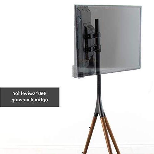 """VIVO Artistic TV Display Stand Adjustable Mount with for 65"""""""