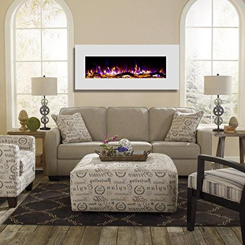 "Regal 50"" Log Ventless Heater Electric Fireplace Better Than Gas Logs, Log Sets, Space"