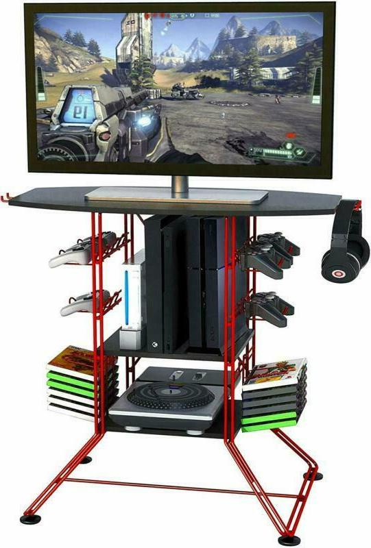 Atlantic Tv-Stand Stand, Durable Wire Constructi