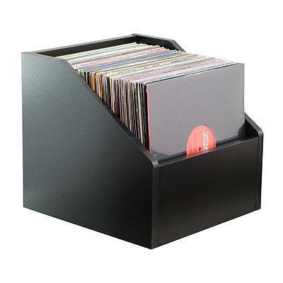 bin e lp storage modern black storage