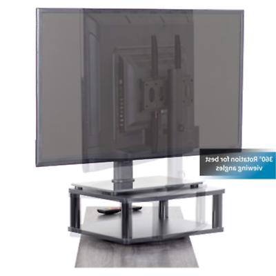 "VIVO Black Rotating Stand Mount for 42"" Screen"