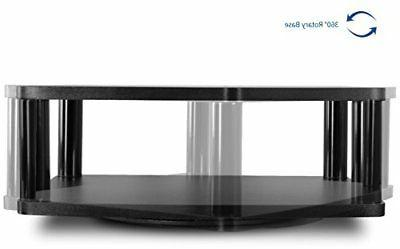 "VIVO TV Rotating Tabletop Stand Swivel Mount for 13"" 42"""