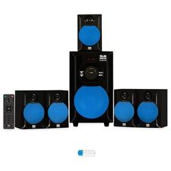 Blue Octave B51 Home Theater 5.1 Powered Speaker System with