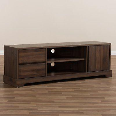 Baxton Burnwood and Contemporary Stand -