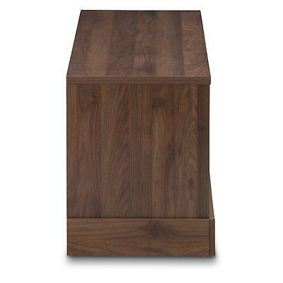Baxton and Contemporary Stand Walnut