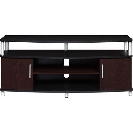Carson TV Stand, TVs up Multiple Finishes