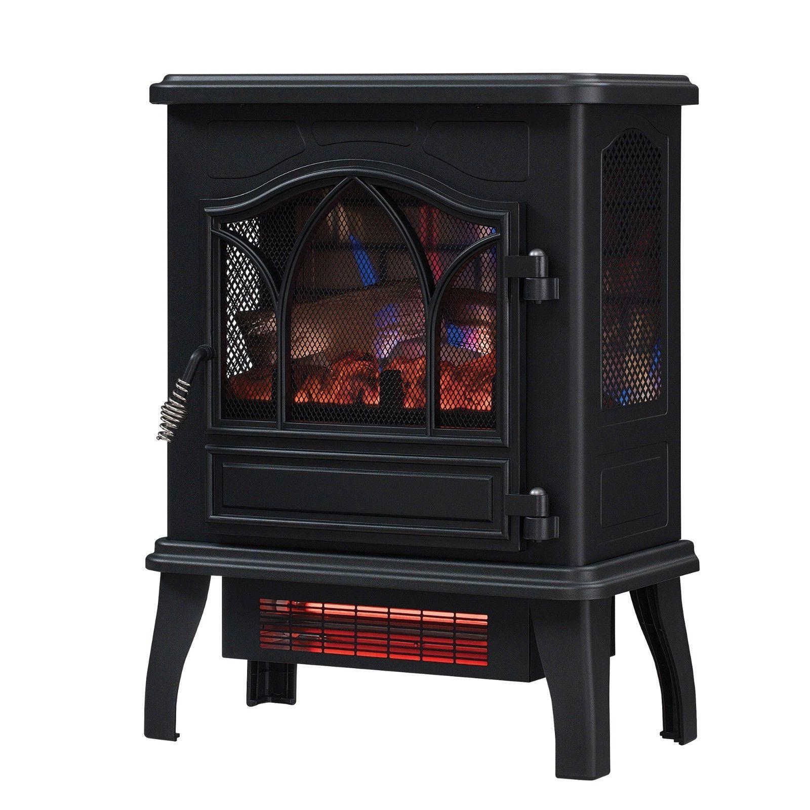 chimneyfree infrared quartz electric space heater 5