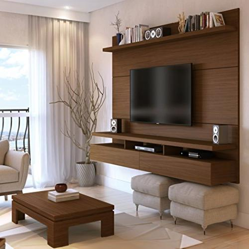 """Manhattan Collection Center with Wall Theater Display, 86.5"""" x 14.9"""" D 63.4"""""""