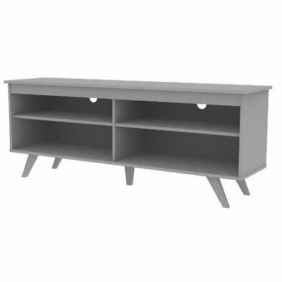 tv console gray finish