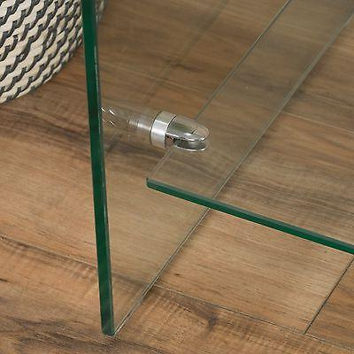 Contemporary Glass Console Shelf