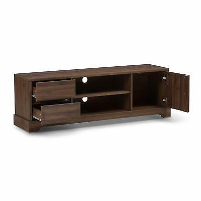 Contemporary Wood TV Baxton Studio