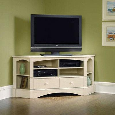 Corner TV Stand Media Game Entertainment Center Living Room