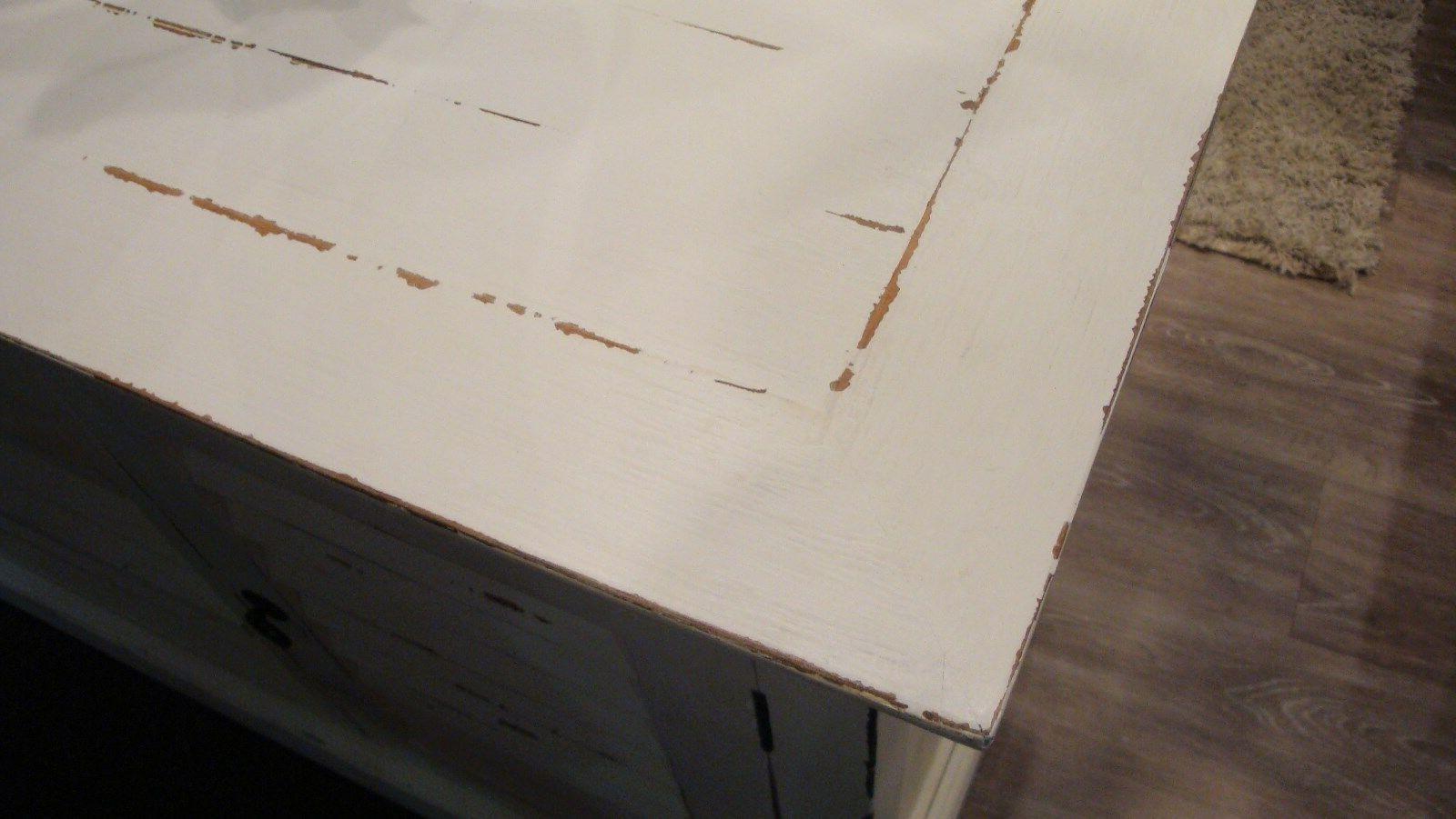 Cottage Shutter Distressed Plasma TV B