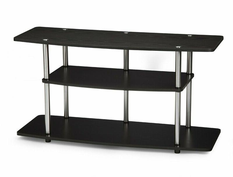 Convenience Concepts Designs2Go 3-Tier Wide TV Stand, Black