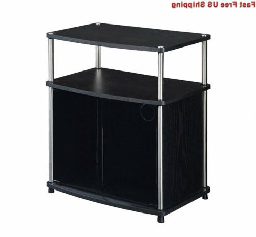 Convenience Concepts Stand Cabinet Flat
