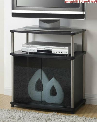 designs2go tv stand with cabinet for flat