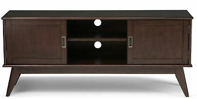 """Simpli Home Draper TV Stand for TVs up to 60"""""""