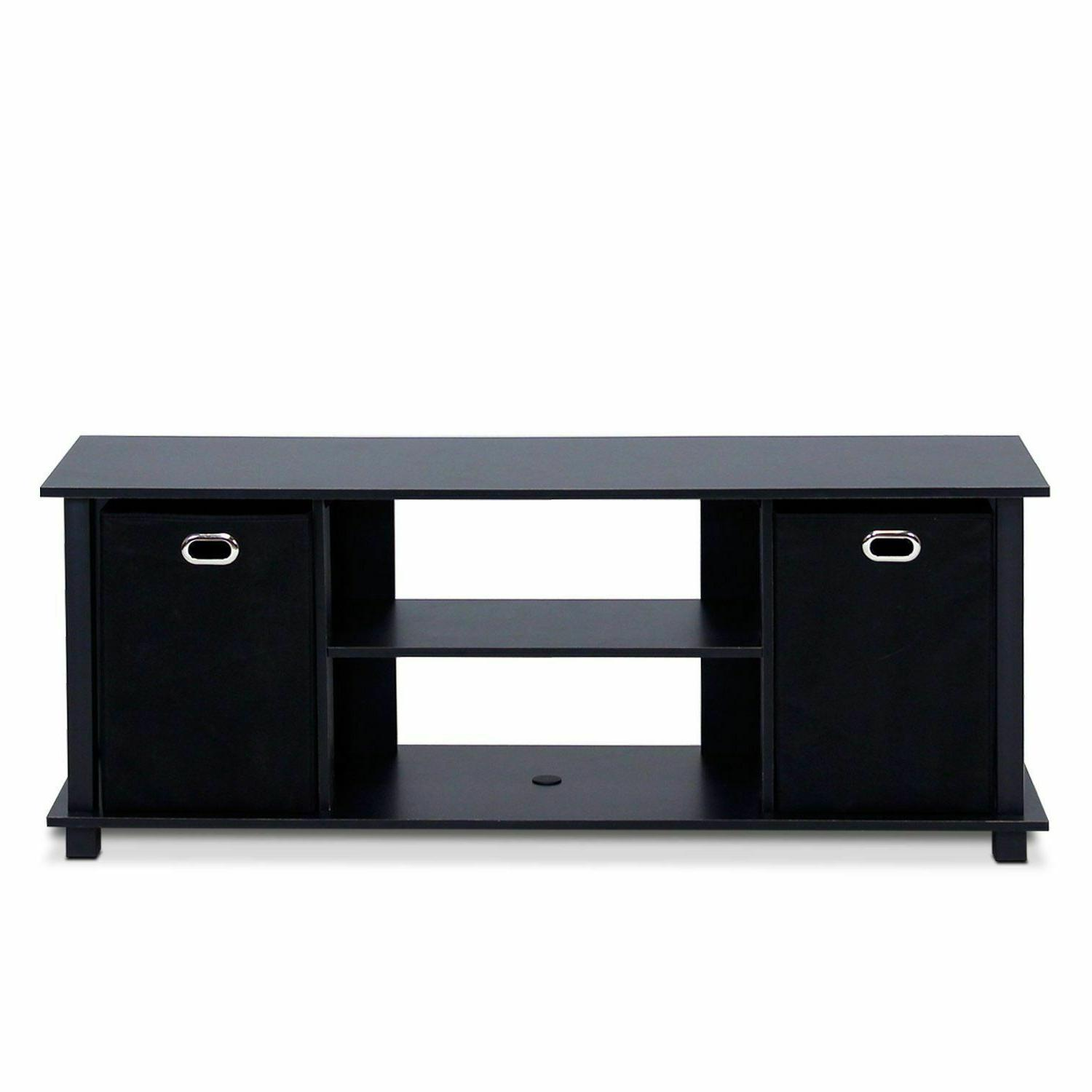 tv stand entertainment center wood storage console