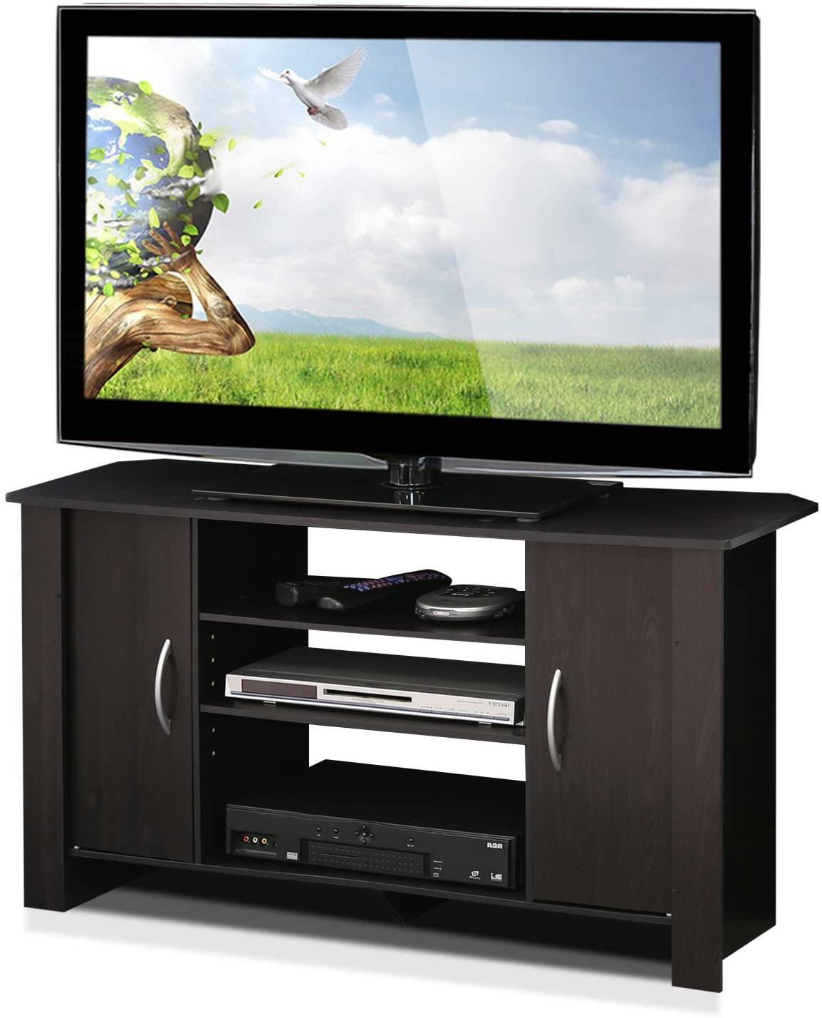 Furinno Econ TV Stand Entertainment Center w/ Storage Space