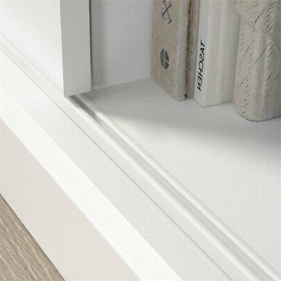 Sauder Engineered Wood Stand To Soft White