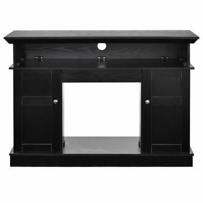 Fireplace TV Storage Media Heater to