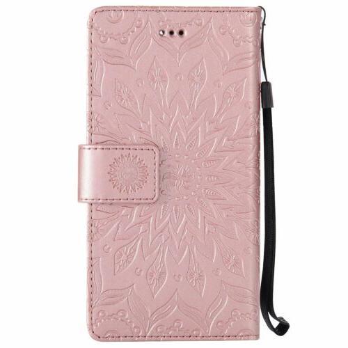 Flip w/Strap Cover For Asus Zenfone Phones