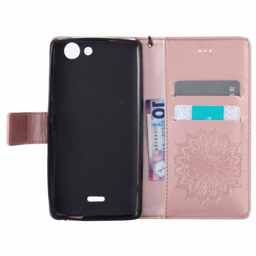 w/Strap Card Cover Asus Zenfone Phones