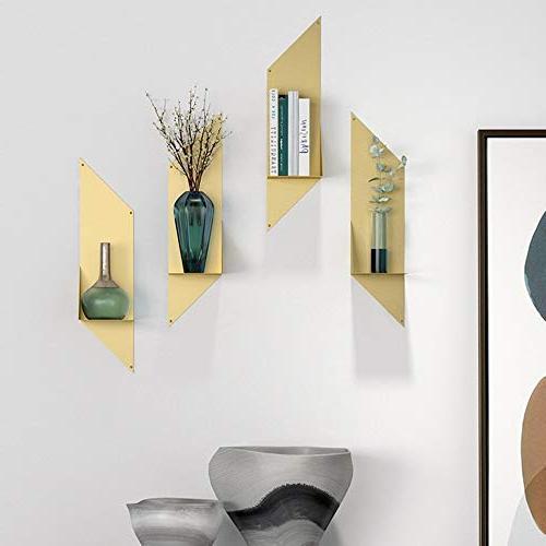 Axdwfd Shelf, Mount TV Backdrop Bookshelf Living Room Flower 6627in