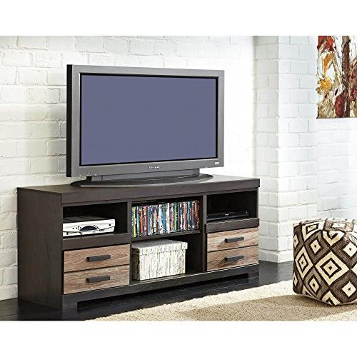 Harlinton Warm Gray TV Stand Option