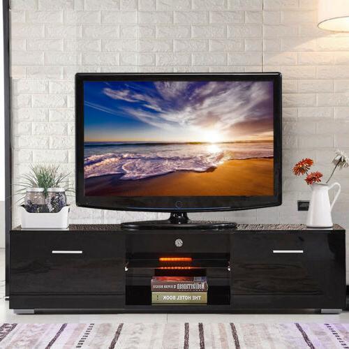 "63"" High LED Unit Cabinet Furniture"