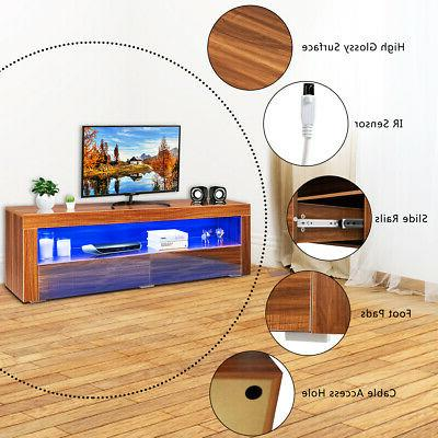 High Gloss TV Media Entertainment & Drawers for TV