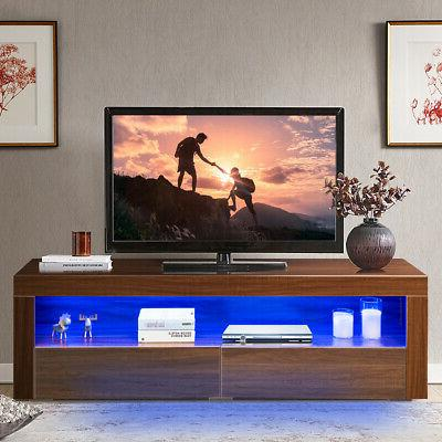 High Gloss TV Media & for TV Walnut