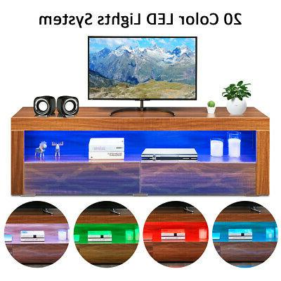 High TV Media & Drawers TV Walnut