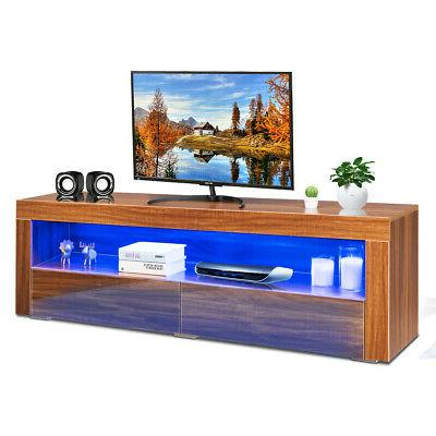 high gloss tv stand media entertainment w
