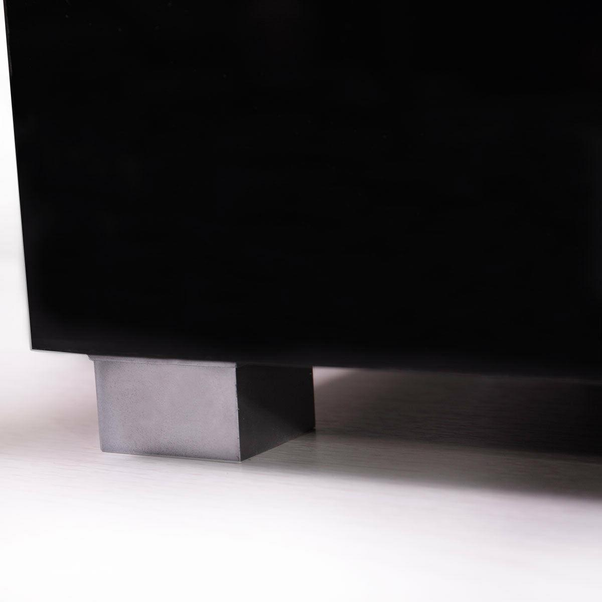 High Gloss Unit Cabinet with Light