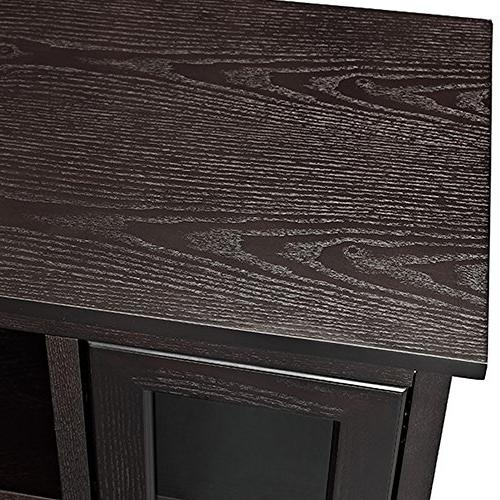 Walker Wood Highboy TV Stand Espresso