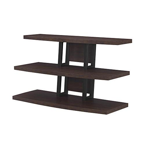 Ameriwood Home Castling TV Stand for TVs up to 55in- Espress